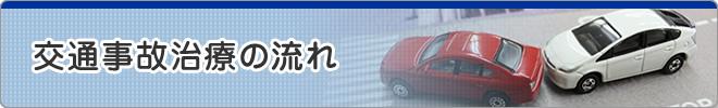交通事故治療の流れ